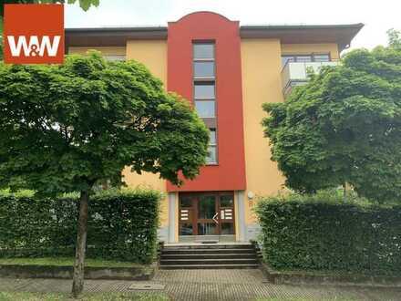 Herrliche 2-Zimmer-Wohnung zentrumsnah, mit Blick ins Grüne!