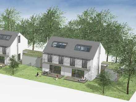 Stilvolle Doppelhaushälfte mit Privatgarten in attraktiver Bogenhausener Wohnlage