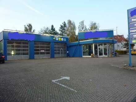 PKW-Werkstattgelände in St.Ingbert in Top-Lage zu vermieten