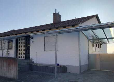 Vollmöbliertes Bungalow, ideal als WG, grosser Garten, 40 m² Terrasse, 20 Min. nach IN