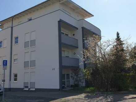 Ruhige 2-Zimmer-Wohnung mit Terrasse und kleinem, gemütlichem Gartenanteil, zentrumsnah in Landau