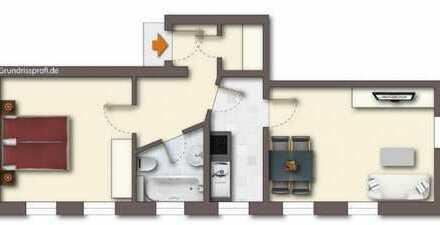 Schöne 2-Zi. Wohnung mit EBK in Niedercrinitz zu vermieten!