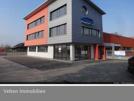 Großes, aufteilbares Gewerbeobjekt mit Produktion, Lager und Büro in Ihringen