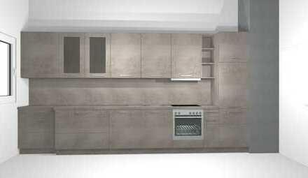 neu sanierte 3 Raum-Wohnung mit Balkon und Einbauküche
