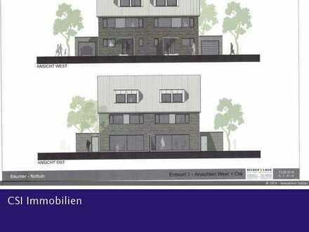 Erbpachtgrundstück in Nottuln - Doppelhausbebauung