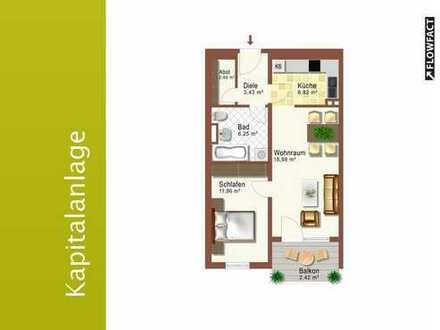 2-Zimmer Kapitalanlage im Landsberger Westen