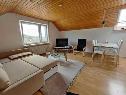 Schicke 3-Zimmer-DG Wohnung mit Balkon und Garage