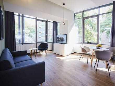 Möbliertes L Apartment Essen City