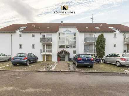 Geräumige 1-Zimmer-Wohnung mit Stellplatz in zentraler Lage von Süßen