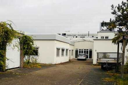 Gewerbeobjekt direkt an der A2 - Lager, Produktionshalle, Büroräume uvm. möglich