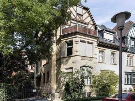 Stilvolle Maisonette-Wohnung in denkmalgeschützter Stadtvilla zwischen Christuskirche und Luisenpark