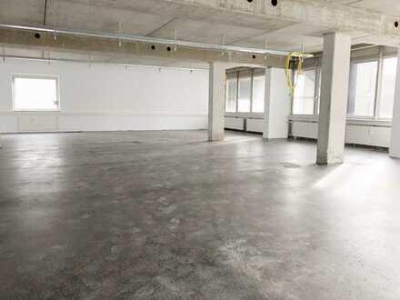 Büroflächen 636 m² in Leonberg-Eltingen - Industrie-Look und Großraumbüro möglich