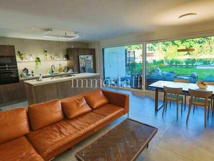 EINZIGARTIG! 124 m² Geschosswohnung mit Terrasse & Tiefgaragenstellplatz zu vermieten!