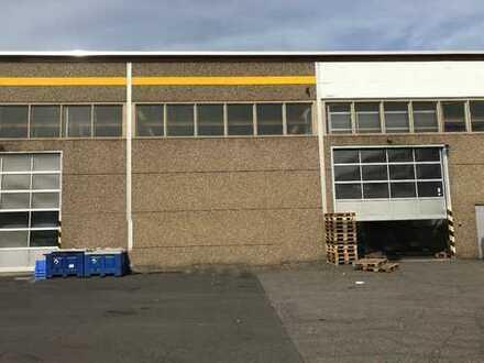 Produktions- und Lagerhalle (ca. 844 m²) mit Büroflächen (ca. 220 m²) in 56070 Koblenz zu vermieten