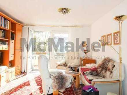 Sicher vermietet! Schön geschnittene 3-Zimmer-Wohnung mit Balkon in Dresden-Weißig!