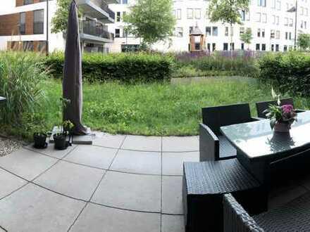 CITY** Ruhige 2-Zimmer-Wohnung mit Garten in bester Lage