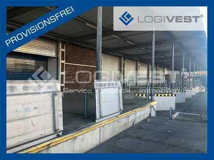 Großzügige Logistikhallen direkt an der A 40 und A 43 / 10.000 m², teilbar