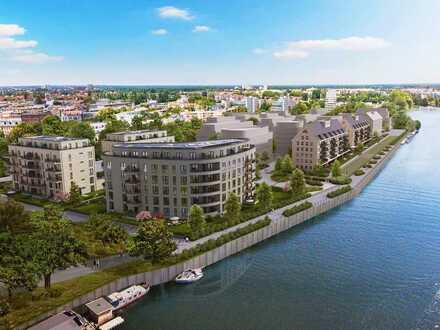 ***Ca. 156m² Garten mit Terrasse*** Ihre 2-Zi.-Wohnung direkt an der Spandauer Havel!