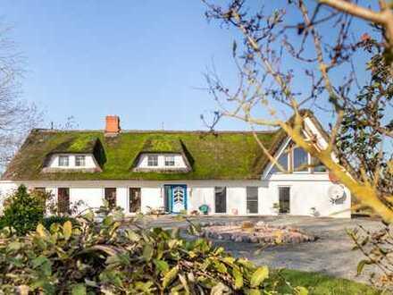Reetdachhaus in atemberaubender Natur