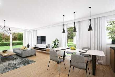 E & Co .- Neubau / Erstbezug - Hochwertige 2 Zimmer Erdgeschosswohnung mit Privatgartenanteil (SNR).