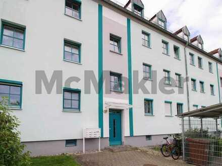 Kapitalanlage in Augsburg: Vermietete 3-Zi.-ETW mit Balkon in attraktiver Lage an der Wertach