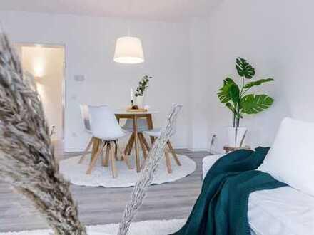Frisch renovierte, lichtdurchflutete Erdgeschosswohnung mit Garten