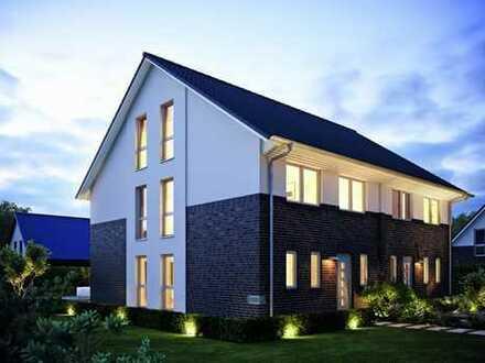 Große Neubau-Doppelhaushälfte KFW Effizienzhaus 40 Plus in Alsbach