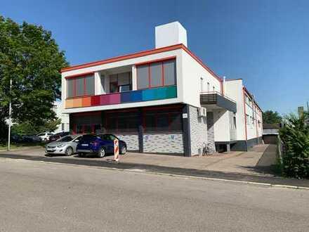 Hallen- und Produktionsflächen mit Bürohaus in bester Lage in Fellbach