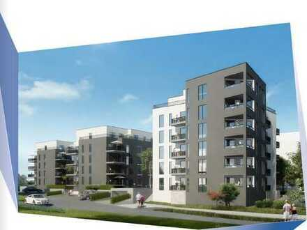 Neubau am Kugelberg in Gießen- hier: 2 Zi. Whg. offene Küche, Bad, Balkon inkl. moderner EBK