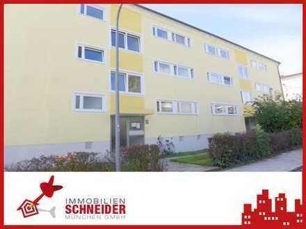 IMMOBILIEN SCHNEIDER - Obermenzing, schöne 2 bzw. 3 Zimmer Wohnung mit Süd-Balkon