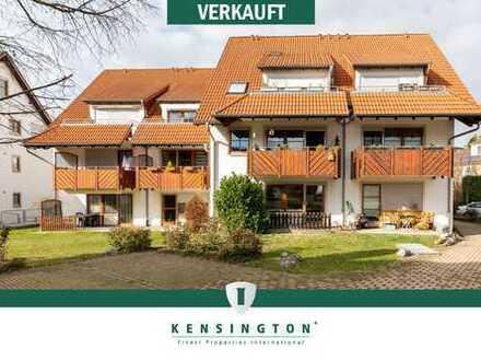 Attraktive 2-Zimmer-Wohnung + TG-Stellplatz in Daisendorf (frei werdend)