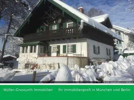 Charmantes Einfamilienhaus mit Panoramablick in die Berge!