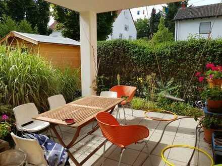 Attraktive 4 ZKB Erdgeschosswohnung mit Garten in Ingolstadt-Kothau