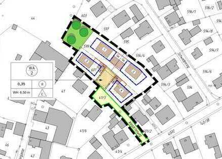 Nähe Ingolstadt! Baugrundstück für eine Doppelhaushälfte in ruhiger Lage von Oberstimm!