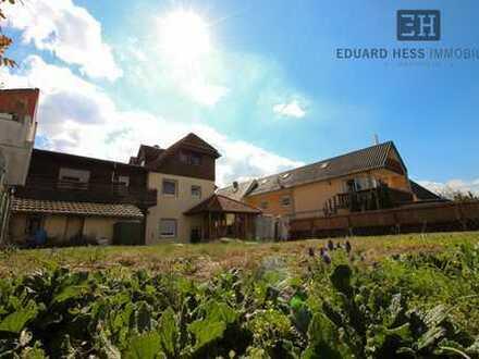 *Freistehendes 1-2 Familienhaus mit großem Garten und Garage - in guter Lage von Bobenheim-Roxheim*