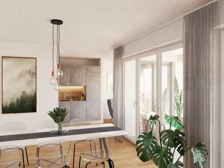 Vielfalt und Komfort, soweit das Auge reicht - 4-Zi.-Whg. auf ca. 101 m² mit Loggia