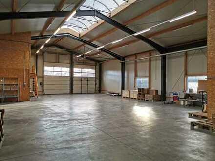 Biete zur Untermiete Hallenlagerfläche 100 – 200 m² zur Bodenlagerung in 48683 Ahaus an.