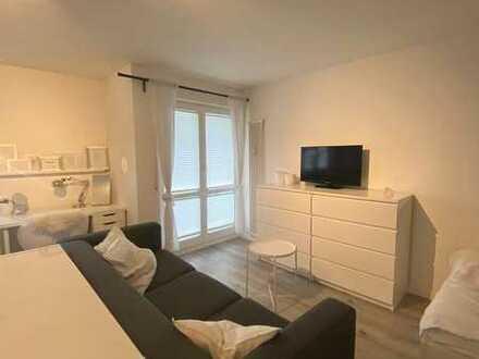 Helle, moderne, möblierte 1-Zimmer-Wohnung
