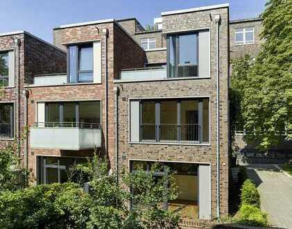 Exklusives Stadthaus mit Garten in ruhigem Wohnquartier