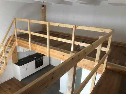 Stilvolle 1-Zimmer-Loft-Wohnung mit Einbauküche in Hauptbahnhofnähe