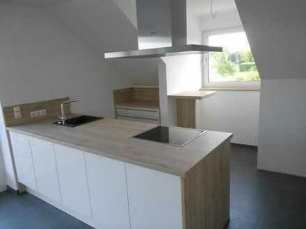Hochwertige Neubau-DG-Wohnung in Oeding, ländlich und doch nahe zur Ortsmitte
