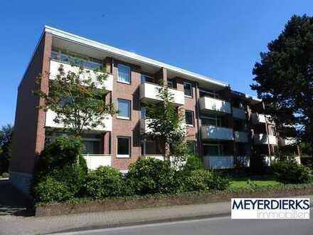 Nadorst - Lehmkuhlenstraße: 1-Zimmer-Wohnung im 2. OG mit Balkon innenstadtnah gelegen