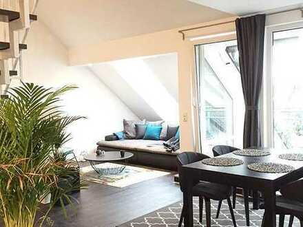 Exklusive 3-Zimmer-Maisonette-Wohnung in toller Lage