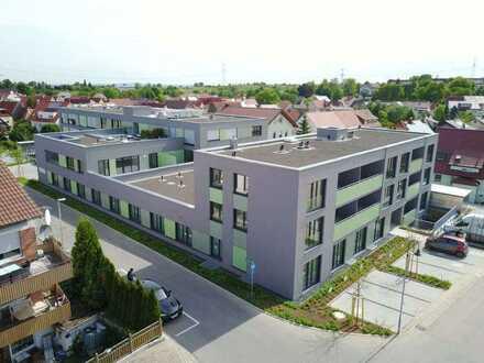 Exklusive, geräumige und neuwertige 1-Zimmer-Wohnung mit Balkon und EBK in Erligheim