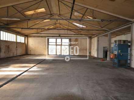 Produktionshalle mit 2 weiteren Lagerhallen ca. 900 qm groß und eine Freifläche in Xanten-Birten!