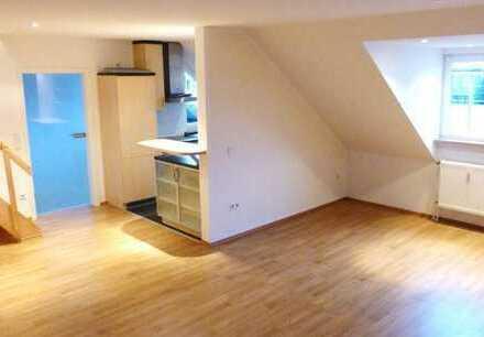 Wohnen auf 2 Etagen in außergewöhnlicher Maisonette-Wohnung in bester City-Lage!