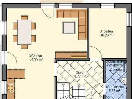 Erstbezug: exklusive 5-Zimmer-Maisonette-Wohnung mit Balkon in Tengen-Uttenhofen