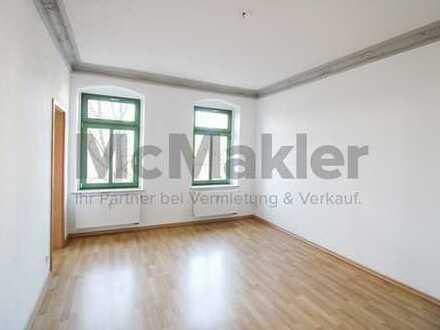 Sofort bezugsfreie 2-Zimmer-Altbauwohnung in ruhiger Lage von Chemnitz-Hilbersdorf!