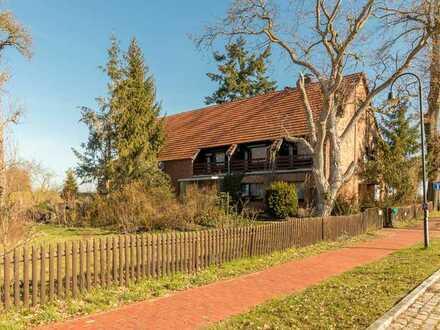 Großzügiges 1-2 Familienhaus mit Scheune in Ortsrandlage - Elbnähe