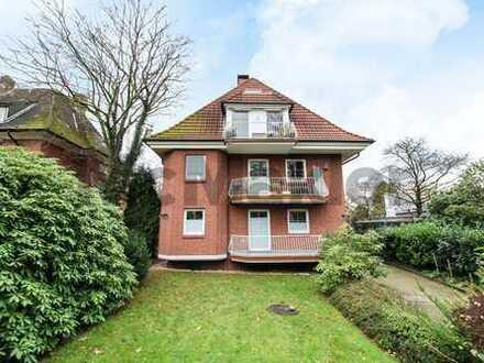 2-Zimmer-Wohnung mit Balkon im begehrten Hamburg-Othmarschen